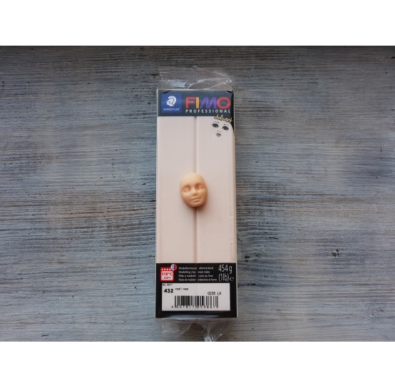 FIMO Professional Doll Art oven-bake polymer clay, rose, Nr. 432, 454 gr