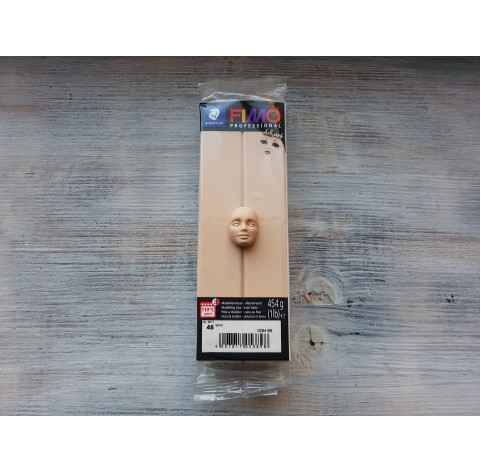 FIMO Professional Doll Art oven-bake polymer clay, sand, Nr. 45, 454 gr