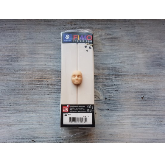 FIMO Professional Doll Art oven-bake polymer clay, beige, Nr. 044, 454 gr