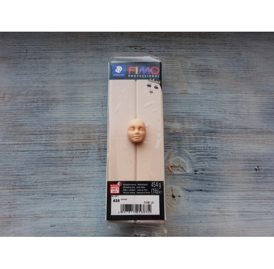 FIMO Professional Doll Art oven-bake polymer clay, cameo, Nr. 435, 454 gr