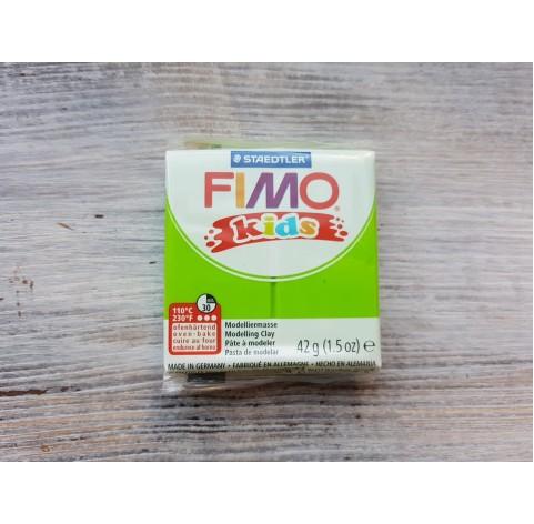 FIMO Kids oven-bake polymer clay, lime, Nr. 51, 42 gr