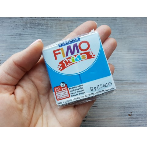 FIMO Kids oven-bake polymer clay, blue, Nr. 3, 42 gr