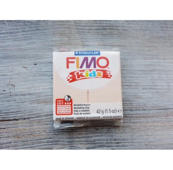 FIMO Kids oven-bake polymer clay, flesh, Nr. 43, 42 gr