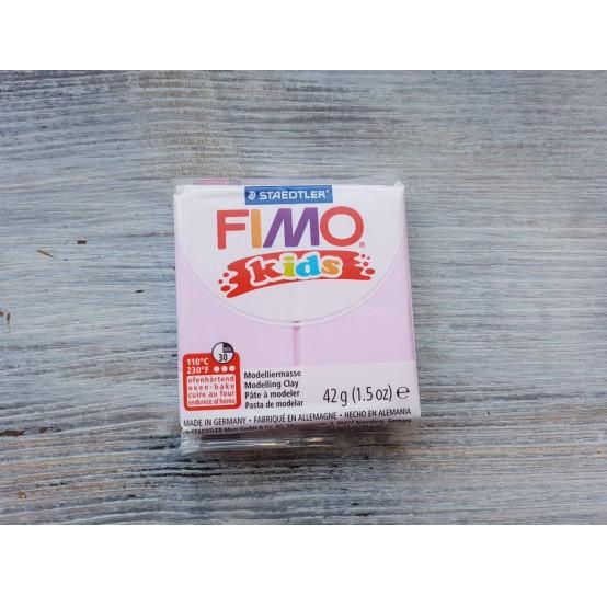 FIMO Kids oven-bake polymer clay, light pink, Nr. 25, 42 gr