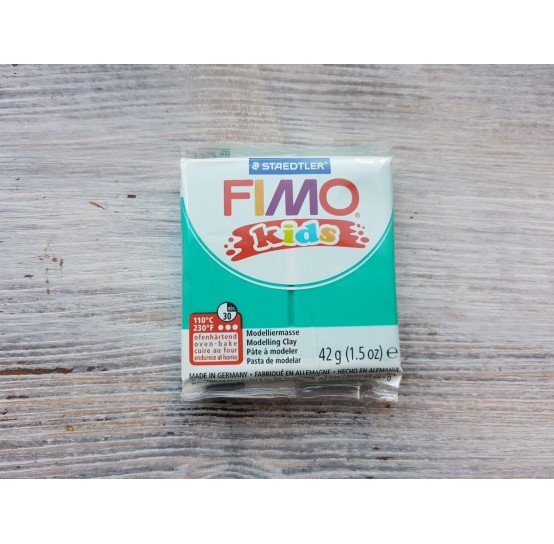 FIMO Kids oven-bake polymer clay, green, Nr. 5, 42 gr