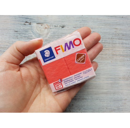 FIMO Leather oven-bake polymer clay, watermelon, Nr. 249, 57 gr