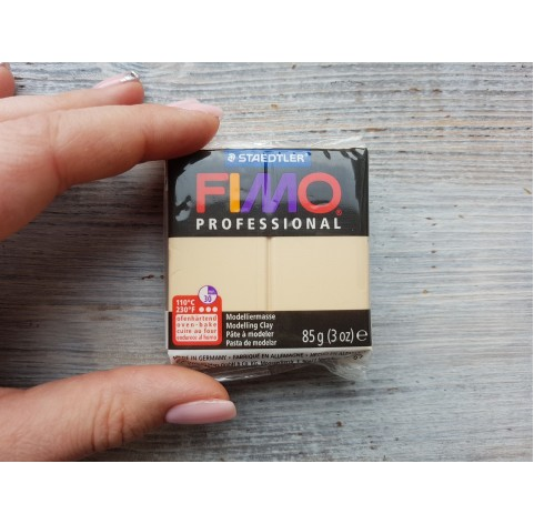 FIMO Professional oven-bake polymer clay, champagne, Nr. 02, 85 gr