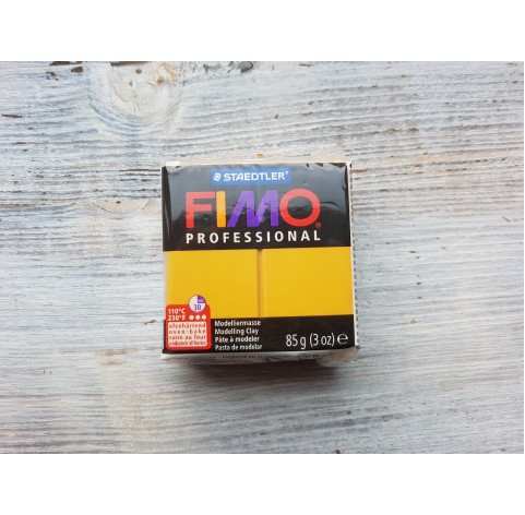FIMO Professional oven-bake polymer clay, ochre, Nr. 17, 85 gr