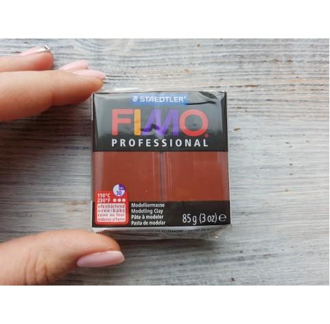 FIMO Professional oven-bake polymer clay, chocolate, Nr. 77, 85 gr