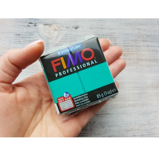 FIMO Professional oven-bake polymer clay, true green, Nr. 500, 85 gr