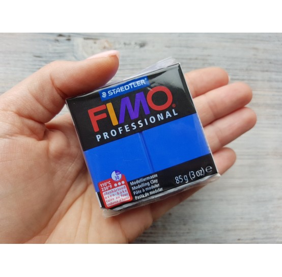 FIMO Professional oven-bake polymer clay, ultramarine, Nr. 33, 85 gr