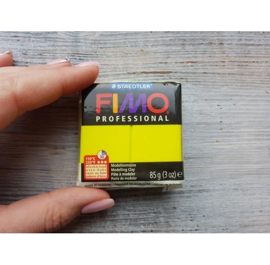 FIMO Professional oven-bake polymer clay, lemon yellow, Nr. 1, 85 gr