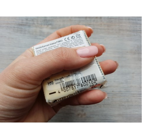 FIMO Professional oven-bake polymer clay, true yellow, Nr. 100, 85 gr