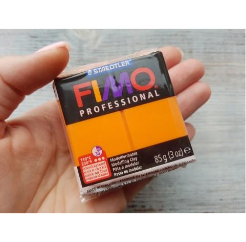 FIMO Professional oven-bake polymer clay, orange, Nr. 4, 85 gr
