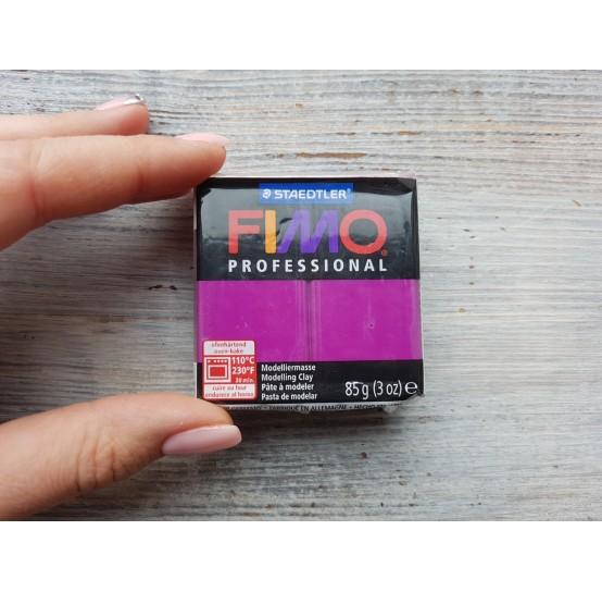 FIMO Professional oven-bake polymer clay, violet, Nr. 61, 85 gr