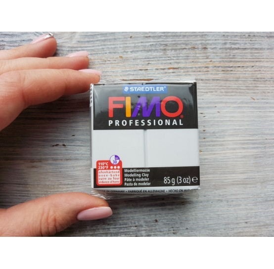 FIMO Professional oven-bake polymer clay, dolphin grey, Nr. 80, 85 gr