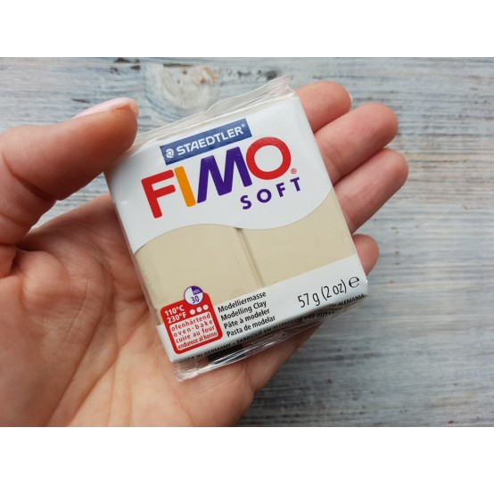 FIMO Soft oven-bake polymer clay, sahara, Nr. 70, 57 gr