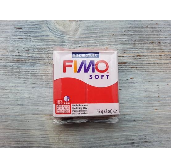 FIMO Soft oven-bake polymer, indian red, Nr. 24, 57 gr