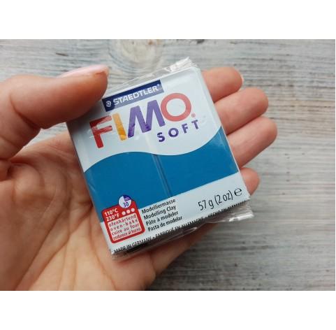 FIMO Soft oven-bake polymer clay, calypso blue, Nr. 31, 57 gr