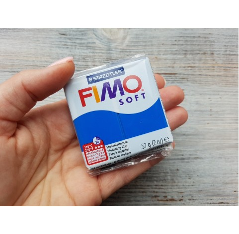 FIMO Soft oven-bake polymer clay, pacific blue, Nr. 37, 57 gr