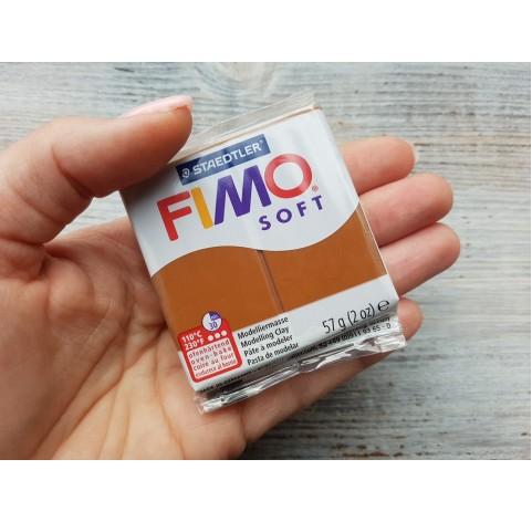 FIMO Soft oven-bake polymer clay, caramel, Nr. 7, 57 gr