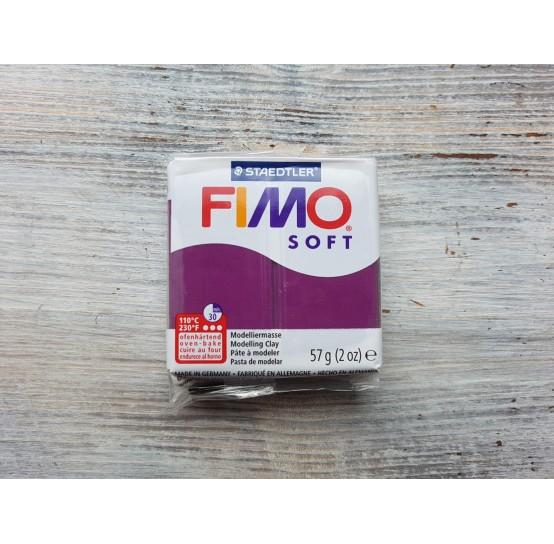 FIMO Soft oven-bake polymer, royal violet, Nr. 66, 57 gr