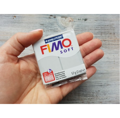 FIMO Soft oven-bake polymer clay, dolphin grey, Nr. 80, 57 gr
