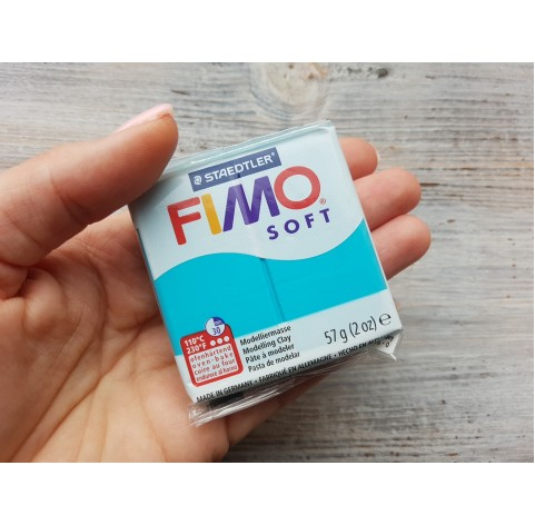 FIMO Soft oven-bake polymer clay, peppermint, Nr. 39, 57 gr