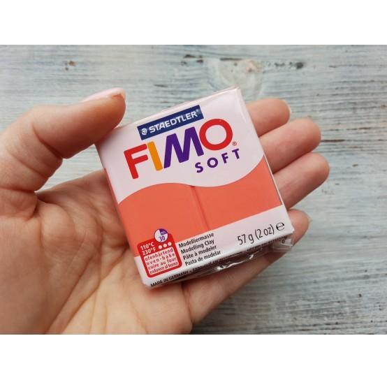 FIMO Soft oven-bake polymer clay, flamingo, Nr. 40, 57 gr