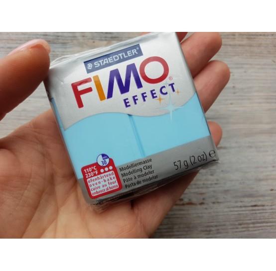 FIMO Effect oven-bake polymer clay, aqua (pastel), Nr. 305, 57 gr