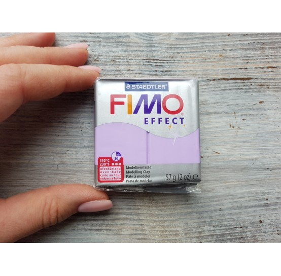 FIMO Effect oven-bake polymer clay, lilac (pastel), Nr. 605, 57 gr