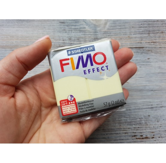 FIMO Effect oven-bake polymer clay, vanilla (pastel), Nr. 105, 57 gr