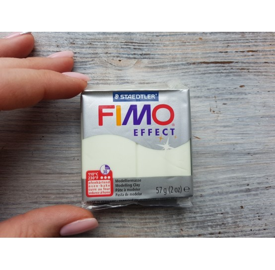 FIMO Effect oven-bake polymer clay, nightglow, Nr. 04, 57 gr