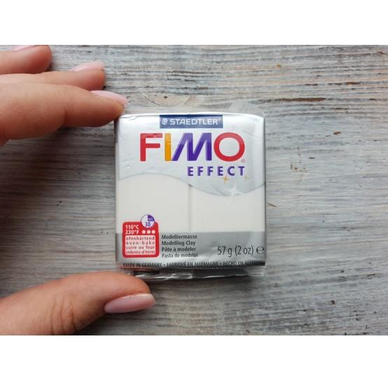 FIMO Effect oven-bake polymer clay, perlmutt (metallic), Nr. 08, 57 gr