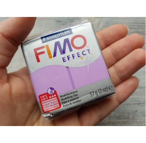 FIMO Effect oven-bake polymer clay, lilac (pearl), Nr. 607, 57 gr