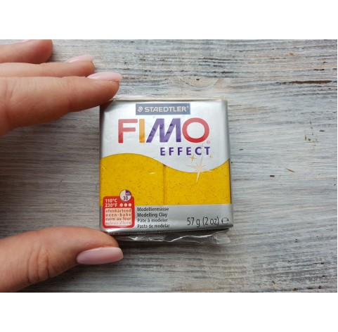 FIMO Effect oven-bake polymer clay, gold (glitter), Nr. 112, 57 gr