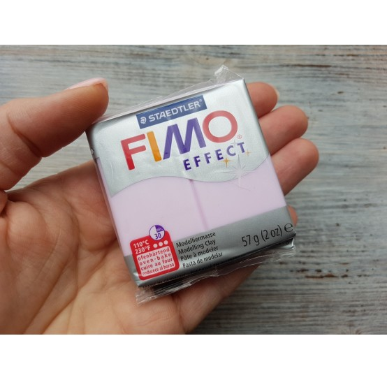 FIMO Effect oven-bake polymer clay, rose quartz (gemstone), Nr. 206, 57 gr