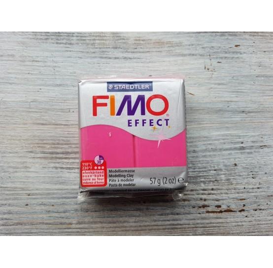 FIMO Effect oven-bake polymer clay, ruby quartz (gemstone), Nr. 286, 57 gr