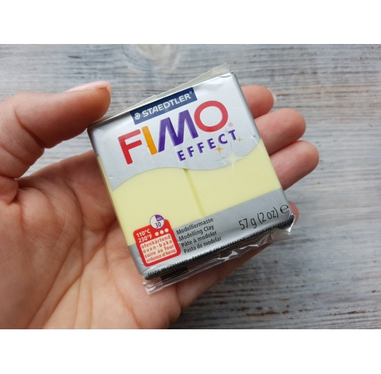 FIMO Effect oven-bake polymer clay, citrine quartz (gemstone), Nr. 106, 57 gr