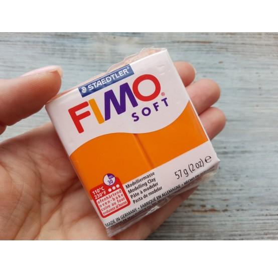 FIMO Soft oven-bake polymer clay, mandarin, Nr. 42, 57 gr