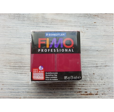 FIMO Professional oven-bake polymer clay, bordeaux, Nr. 23, 85 gr
