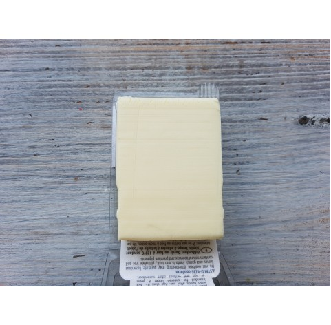 PARDO oven-bake polymer clay, yellow translucent, Nr. 206, 56 gr