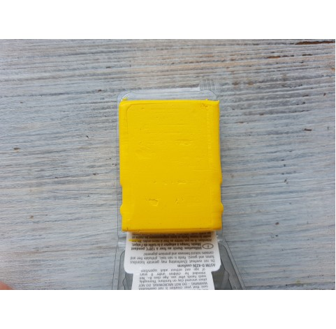 Pardo Jewelry and Art oven-bake polymer clay, aventurine yellow, Nr. 204, 56 gr