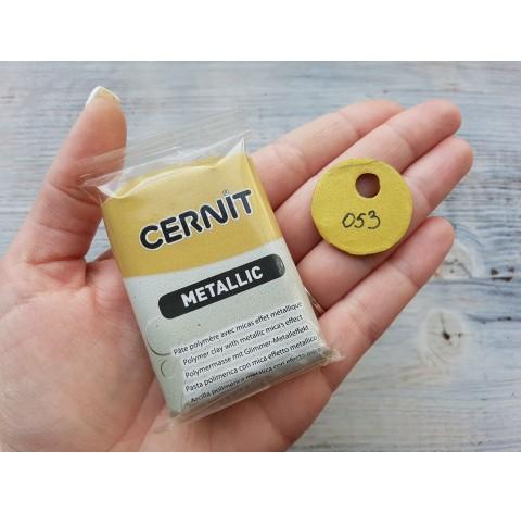 Cernit Metallic oven-bake polymer clay, rich gold, Nr. 053, 56 gr