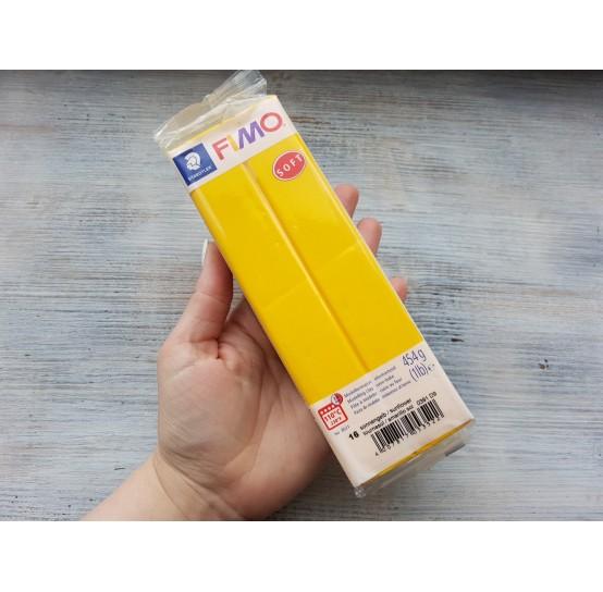 FIMO Soft oven-bake polymer clay, sunflower, Nr. 16, 454 gr