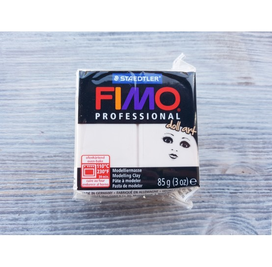 FIMO Professional Doll Art oven-bake polymer clay, beige, Nr. 44, 85 gr