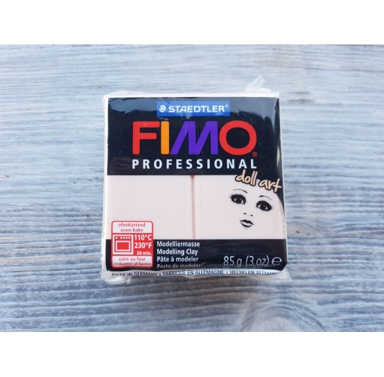 FIMO Professional Doll Art oven-bake polymer clay, cameo, Nr. 435, 85 gr