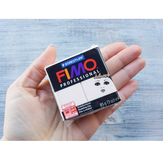 FIMO Professional Doll Art oven-bake polymer clay, rose, Nr. 432, 85 gr