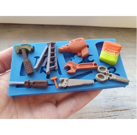 Silicone mold, tools, 9 pcs., ~ 1.2-3.3 cm