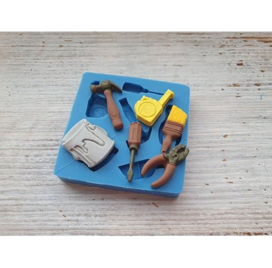 Silicone mold, tools, 6 pcs., ~ 2.1-2.8 cm